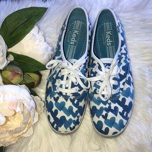 Keds Heart Sneakers 7.5
